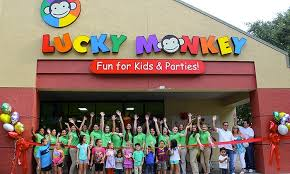 Image Placeholder For Indoor Playground Visits At Lucky Monkey One Or Two Children Up