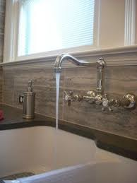 Wall Mounted Kitchen Faucets Home Depot by Kitchen Ideas Wall Mount Kitchen Faucet And Astonishing Wall