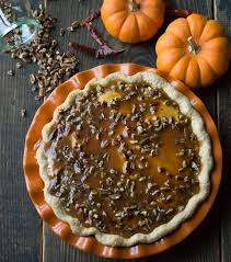 Pumpkin Pie With Pecan Praline Topping by Chili Praline Pumpkin Pie Recipe
