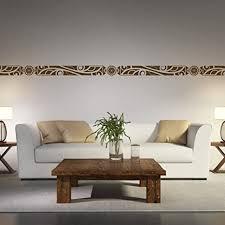 malango afrikanische bordüre wandtattoo aufkleber