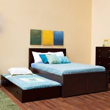 platform bed with trundle simple diy build platform bed with