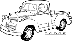 Dodge Truck Silhouette At GetDrawings.com | Free For Personal Use ...