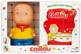 caillou celebrates national bubble bath day caillou