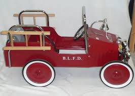 Tennants Auctioneers: A Modern Tinplate Fire Engine Pedal Car