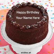 Happy Birthday Cake wishes with Name