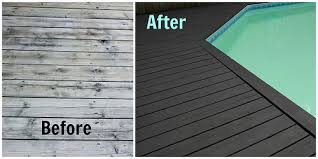 pool deck transformation with behr premium deckover life at