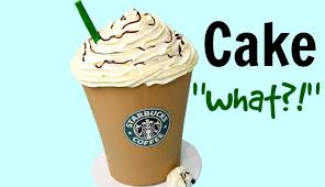 Easy Starbucks Drawing Awesome Giant Mocha Frappuccino Cake Style