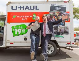 Stuart Shoen And Phoenix Mayor Greg Stanton Pose For A U-Haul Famous ... Kcdz 1077 Fm One Killed When Uhaul Crashes Into Semitruck Near Van Rental Stock Photos Images Alamy What Trucks Are Allowed On The Garden State Parkway And Where Njcom Update Bomb Techs Open Back Of Stolen Uhaul Outside Oklahoma City Driving 26 Uhaul Chevy 496 Engine Youtube About Truck Rentals Pull Into A Plus Auto Performance Supergraphics Washington Who Has The Cheapest Moving Best Image Deals Budget Truck Used To Try Break In Fresno Pharmacy