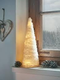 led kegel plüsch weihnachten advent fenster fensterbank deko