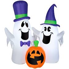 Animatronic Halloween Props Uk by Airblown Inflatable Halloween Decorations Light Up Ghosts Pumpkins