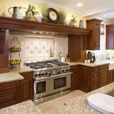 Mediterranean Style Kitchens Kitchen Cabinets DecorTop Of CabinetsAbove
