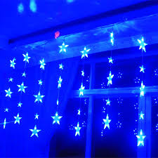 Christmas Tree Shop Curtains by Black Curtain Led Lights Decorate The House With Beautiful Curtains