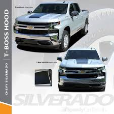 100 Chevy Decals For Trucks 2019 Silverado Hood Stripes TBOSS HOOD Wet And Dry