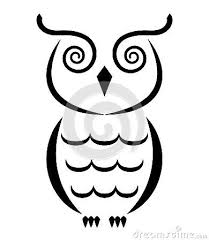 Owls To Draw Easy