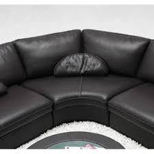 canapé d angle 6 places pas cher canapé d angle en cuir noir 6 places turin achat vente canape