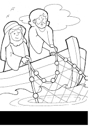 Fisherman Coloring Pages For