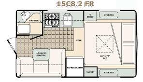 10 Bigfoot Travel Trailer Floor Plans Small Campervan Fresh Design