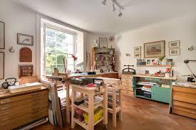 Art Studio Home Office Traditional With Magnetic Door