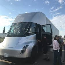 Tesla Semi Electric Truck Prototype Made It To Salt Lake City ... Nikola Corp One Scania And Siemens To Develop Electrically Powered Vehicles Via Motors Erevolution Specializing In Electric Trucks The Edumper Is The Worlds Largest Most Efficient Via To Use A123 Lithiumion Cells In Person Can Build This Selfdriving Van 4 Hours Truck At 2013 Los Angeles Intertional Auto Model U Tesla Pickup Gigaom Rolls Out Converted Hybrid Electric Trucks Extended Range 402hp 100mpg Youtube Boschs New Semitrailers Regeneration Recharge News All Sky Energy