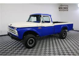 100 1965 Ford Truck For Sale F100 For ClassicCarscom CC973998