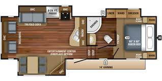 Jayco Fifth Wheel Floor Plans 2018 by 2018 Jayco Eagle Ht Fifth Wheel Series M 27 5 Rlts Specs And