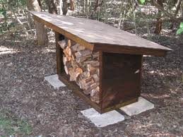 design and construction of a small free standing wood shelter