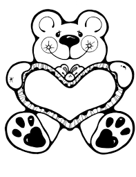 Valentine Day Coloring Pages Printable
