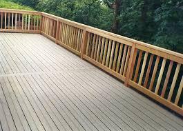 Horizontal Deck Railing Ideas by Deck Railing Designs Cable Getting The Best Deck Railing Designs
