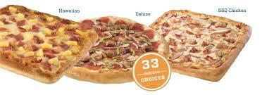 Gourmet Pizza Delivery Menu