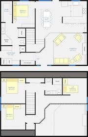 pole barn floor plans with living quarters loft