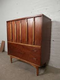 Kent Coffey Blonde Dresser by Tall Modern Two Tone Dresser By Kroehler At 1stdibs