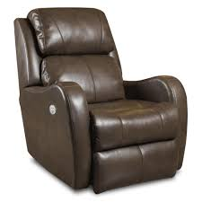 siri lay flat recliner with power headrest by southern motion