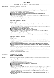 Senior Warehouse Resume Samples | Velvet Jobs Resume Examples For Warehouse Associate Professional Job Awesome Sample And Complete Guide 20 Worker Description 30 34 Best Samples Templates Used Car General Labor Objective Lovely Bilingual Skills New Associate Example Livecareer