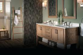 19 Inch Deep Bathroom Vanity by Custom Barn Wood Bath Vanity With Cement Tile Floor By