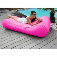 de piscine flottant wave gonflable canapé pouf pas cher