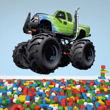 Green Monster Truck Wall Sticker Transport Wall Decal Boys Bedroom ... Monster Trucks Wall Stickers Online Shop Truck Decal Vinyl Racing Car Art Blaze The Machines A Need For Speed Sticker Activity Book Cars Motorcycles From Smilemakers Crew Wild Run Raptor Monster Spec And New Stickers Youtube Build Rc 110 Energy Ken Block Drift Self Mutt Dalmatian Pack Jam Rockstar Sheets Get Me Fixed And Crusher Super Tech Cartoon By Mechanick Redbubble Ford Decals Australia