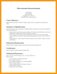 Resume Objective Examples For Dental Receptionist And