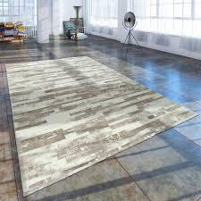 huis kurzflor wohnzimmer teppich used look mit naturstein