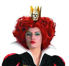 Characters For Halloween With Red Hair by Amazon Com Disguise Costumes Women U0027s Queen Wig Red One Size
