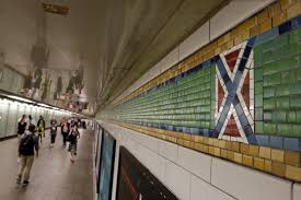 Quality Tile Bronx Ny Hours by Ny Subway Tiles With Confederate Flag Look To Be Altered New