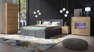 schlafzimmer komplett set 5 tlg labri grau sonoma eiche matt