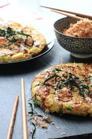 cuisine japonaise recette facile okonomiyaki omelette japonaise sucrée salée recette facile