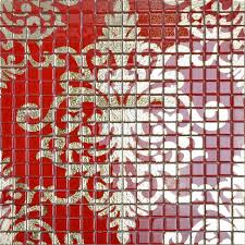 glass mosaic wall murals puzzle mosaic tile designs doud008