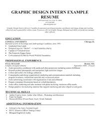 47 Internship Resume Objective Examples Competent Sample Graphic Design Rural Samples Grand