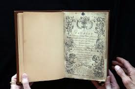 Forgotten Rare Coloring Book 257 Years Old Found In Missouri
