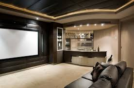 Home Theater As Addition To Large Modern Interior - Small Design Ideas 10 Things Every General Contractor Should Know About Home Theater Home Theater Bar Ideas 6 Best Bar Fniture Ideas Plans Mesmerizing With Photos Idea Design Retro Wooden Chair Man Cave Designs Modern Tv Wall Mount Great To Have A Seated Area As Additional Seating Space I Charm Your Dream Movie Room Then Ater Ing To Decorating Recessed Lighting 41 Wonderful Theatre Cool Design Basement Fniture The Basement 4