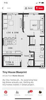100 Tiny Home Plans Trailer 21 X 26 In 2019 Building A Tiny House House Trailer