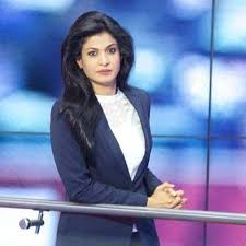 The Bold And Beautiful TV Journalist Anjana Om Kashyap Was Born On 12 June 1975 At Ranchi Jharkhand In India