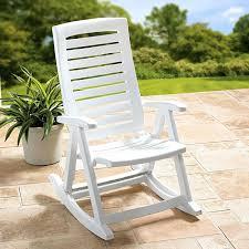 100 Ace Hardware Resin Rocking Chair S Outdoor Brilliant Pvc Studio White