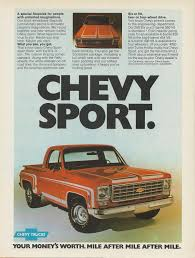 100 75 Chevy Truck 19 Truck Ad Masculine Type Masculine Vehicle